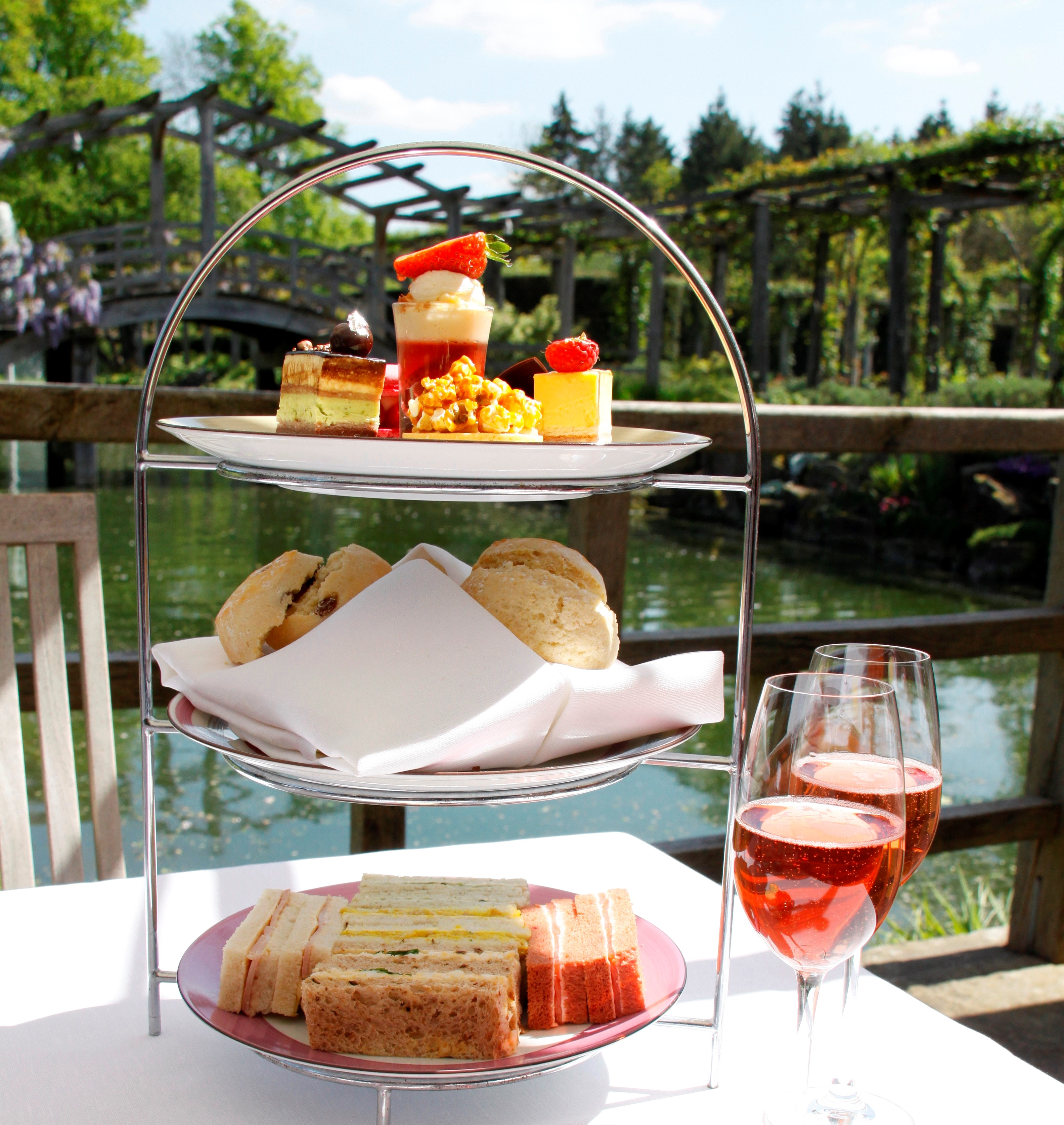 Bollinger Rosé Afternoon tea for Two